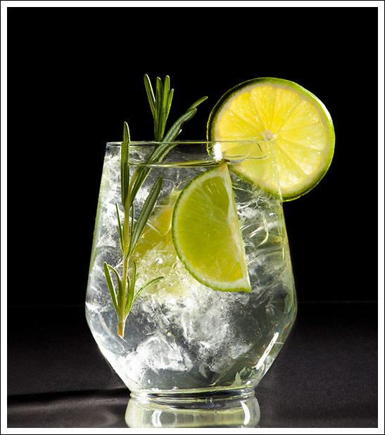 Cocktail Gin Fizz mit ruhrgin